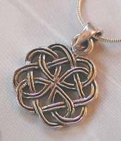 Wholesale silver jewelry online wholesale celtic knot pendant